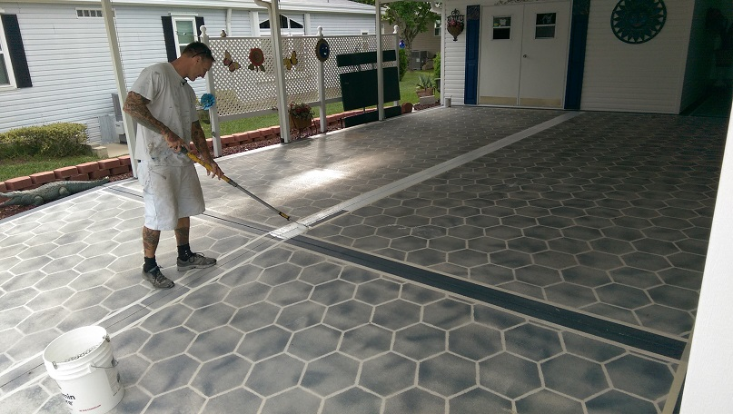 how to use sodium percarbonate for cleaning mould off concrete
