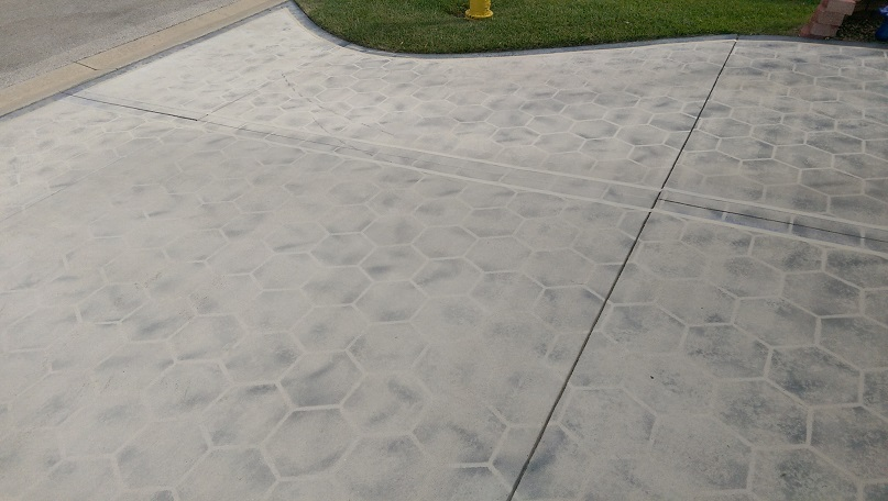 Driveway Painting Before